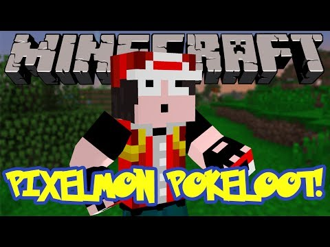 Minecraft Mod Review: Pixelmon PokeLoot - LOOT WITHOUT KILLING BOSSES!!