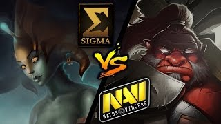 Sigma vs Na`Vi - Game 1 [XMG Captains Draft Invitational] - Dota 2