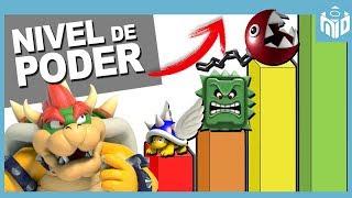 ESCALA de PODER de los ENEMIGOS de Super Mario| N Deluxe