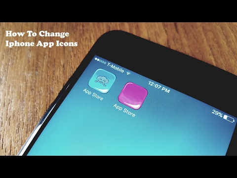 How To Change and Customize Iphone App Icons No Jailbreak - Fliptroniks.com