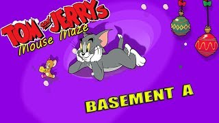 Tom And Jerry - Mouse Maze Basement A. Fun Tom and Jerry 2019 Games. Baby Games  #littlekids