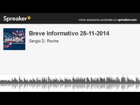 Breve Informativo 28-11-2014 (hecho con Spreaker)