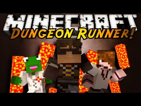 Minecraft: Dungeon Runner Part 1!