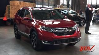 2017 Honda CR-V Reveal in Detroit