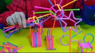 Bộ đồ chơi xếp hình que thông minh sáng tạo cho bé