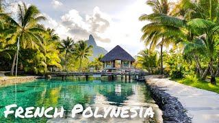 Moorea, Tahaa, Bora Bora. French Polynesia 2019 4K