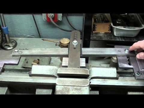 MACHINE SHOP TIPS #71 Atlas Lathe Taper Turning Part 1 of 2 tubalcain