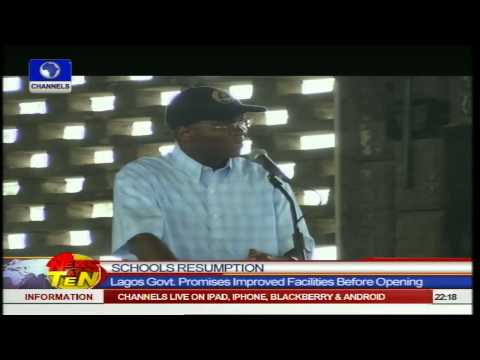News@10: Lagos Schools To Resume On October 8 21/09/14 Part 2