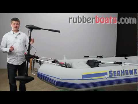 Intex Electric Trolling Motor 40 lb Thrust vs. Minn Kota
