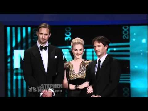 Stephen Moyer  Anna Paquin e Alexander Skarsgard  Presenting Emmys 2010
