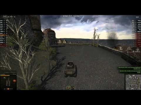 World of tanks - Scouting with M5 Stuart