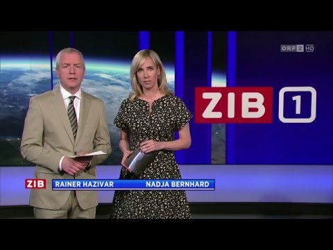 Austrian News Intros / News Intros in Österreich - April 2016