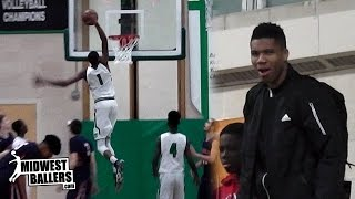 Kostas Antetokounmpo Shows FREAK Athleticism and Leads Team To Victory!! RAW Highlights
