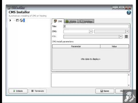 CMS installer tool in Zebroid