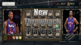 NBA 2K15 PS4 MyTEAM - NEW Throwback Tracy McGrady and Vince Carter COMING to My TEAM!!