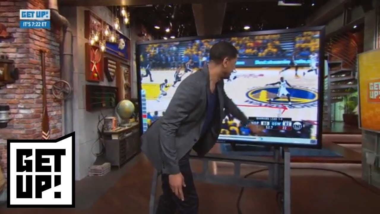 Jalen Rose breaks down film of Steph Curry in Pelicans vs. Warriors Game 2 | Get Up! | ESPN