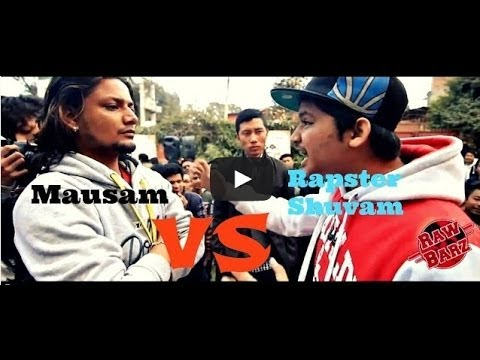 Rapster Shuvam Vs Mausam - Raw Barz (RAP BATTLE)