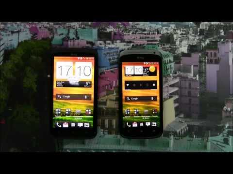 HTC One X vs HTC One S (Design, Benchmark, Browser, SpeedTest, ineternet, screen...