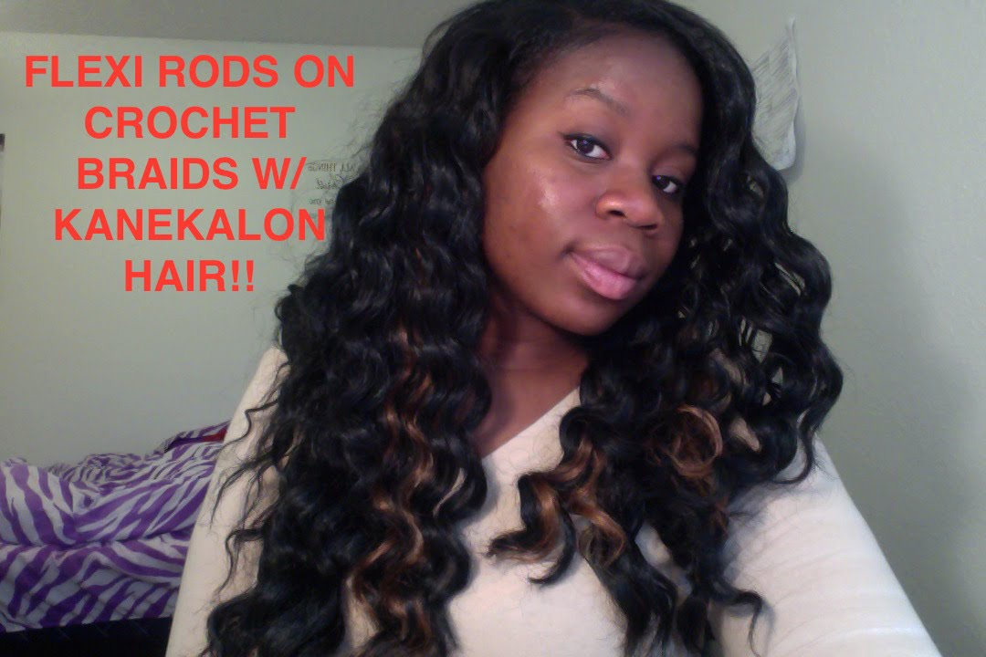 Crochet Hair Rollers : Turtorial: How to Flexi Rod Crochet Braids - YouTube