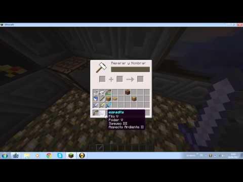 para que es el yunque en minecraft 1.5.2