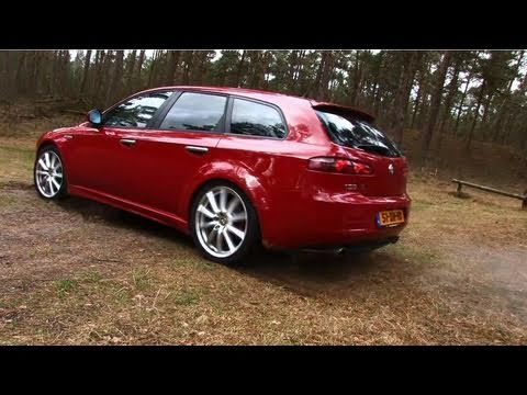 alfa romeo 159 sportwagon 3 2 jts q4 ti youtube. Black Bedroom Furniture Sets. Home Design Ideas