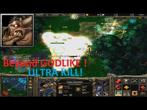 DotA 6.83d - Earthshaker Beyond GODLIKE ! (ULTRA KILL)