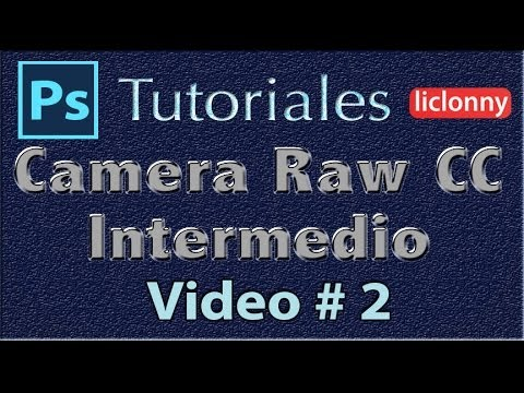 Camera Raw CC Nivel Intermedio 2. Pincel de Ajuste.Personalización.Atajos