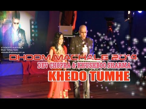 KEHDO TUMHE  DEV CHOPRA & KHUSHBOO SHARMA LIVE AT DHOOM MACHALE...