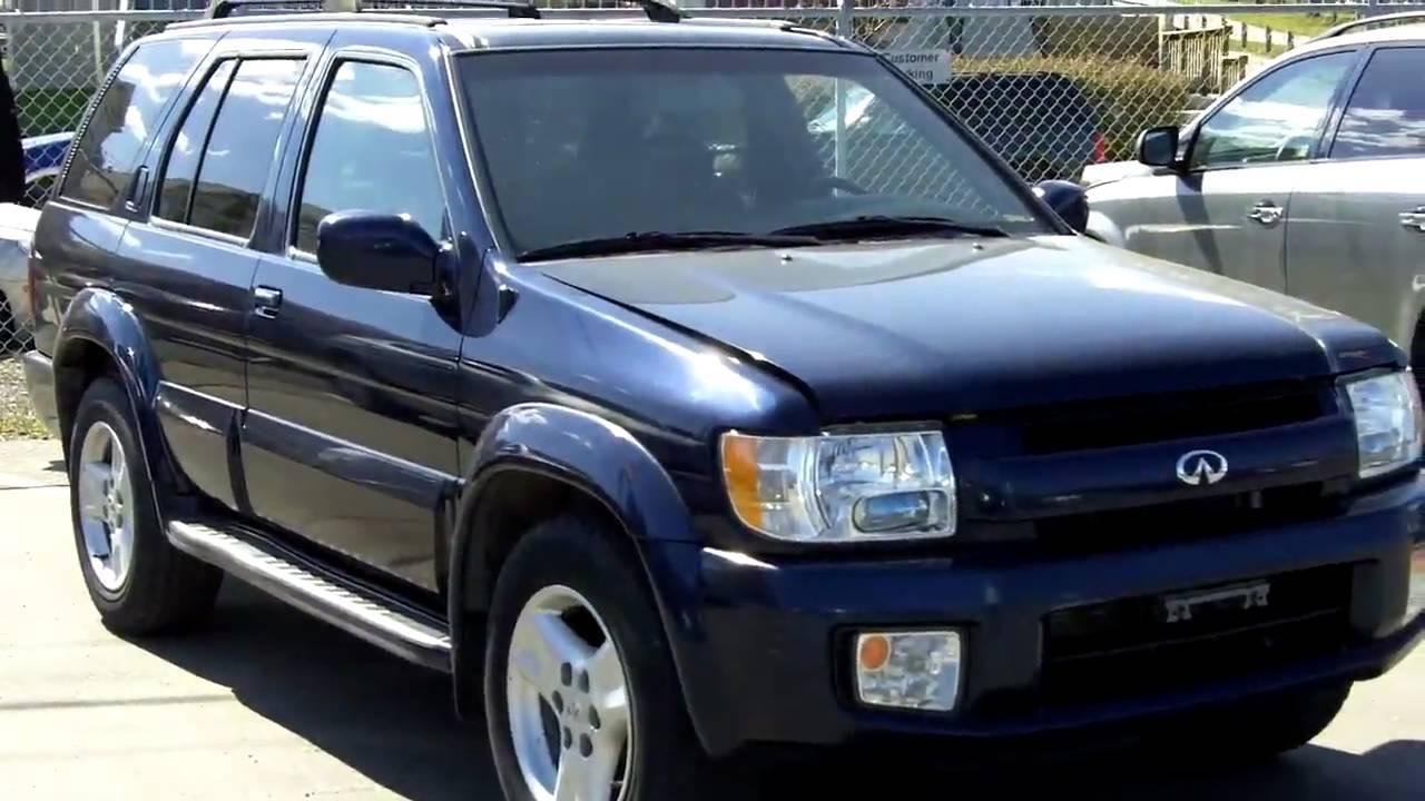 2002 Infiniti Qx4 Blue Fish Creek Nissan Youtube