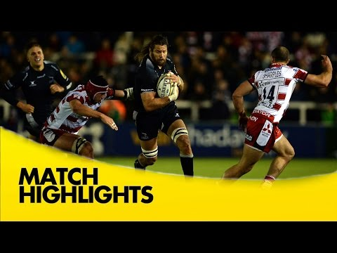 Newcastle Falcons Vs Gloucester Rugby - Aviva Premiership 2015/16