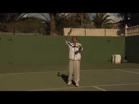 Enseñanza De La Técnica Del Saque En Tenis. Iniciación Y Perfeccionamiento.