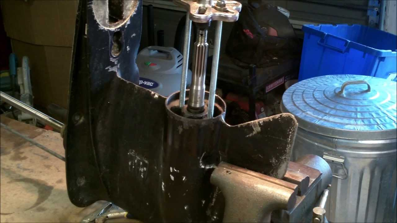 PART 1 HOW TO REMOVE A STUBBORN BEARING CARRIER 1975-2006 ...