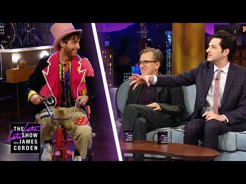 Thomas Middleditch On a Tricycle Interrupts Ben Schwartz