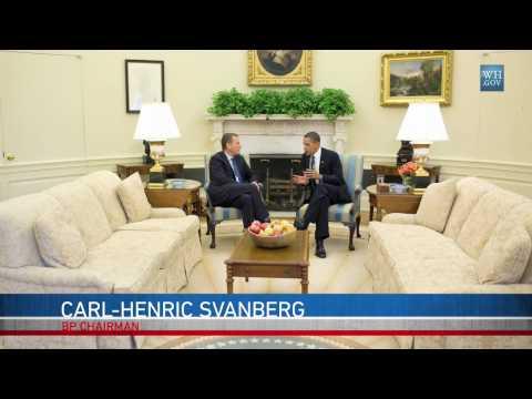 Obama Meets BP CEO Tony Hayward