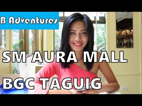 Manila: Greenhills Shopping, SM Aura Mall BGC Taguig, NAIA Airport, Philippines S2 Ep44