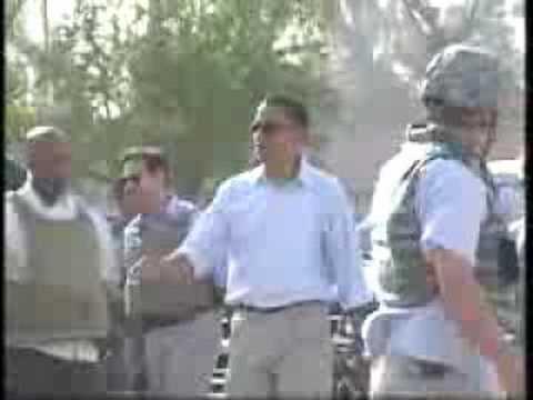 Ospreys Transport Obama in Iraq