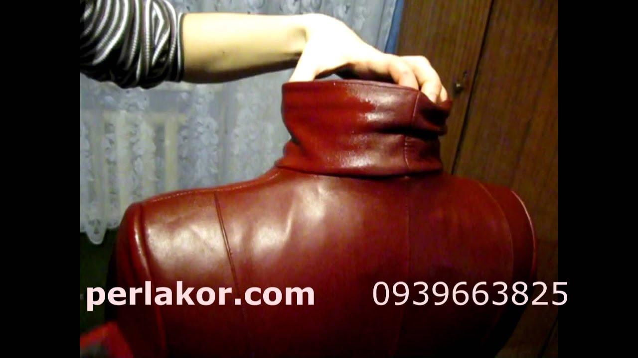 Покраска бордовой куртки. Обучающее видео - YouTube