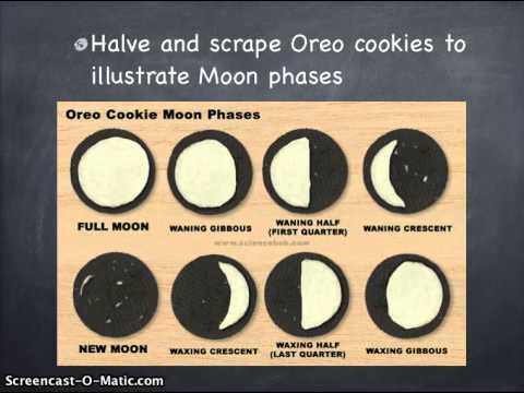 Oreo Moon Phases - YouTube