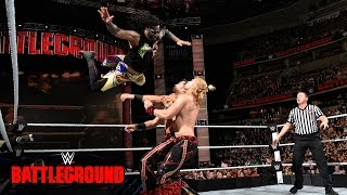 The Usos vs. Breezango: WWE Battleground 2016 Kickoff auf WWE Network