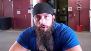 (Part1) Bram of TNA Impact Wrestling Feb  2015