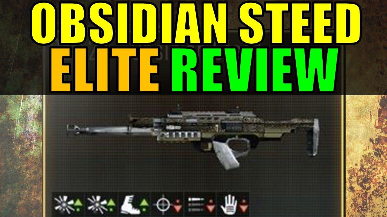 comment avoir obsidian steed