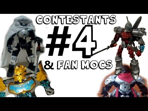 Alternative Makuta Moc Competition Contestants #4 and Fan Mocs