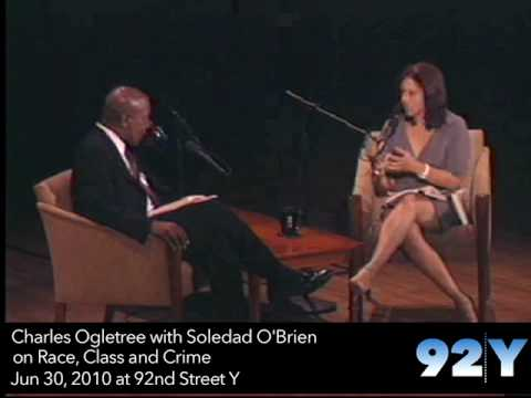 0 Charles Ogletree with Soledad OBrien on Race, Class and Crime at 92Y