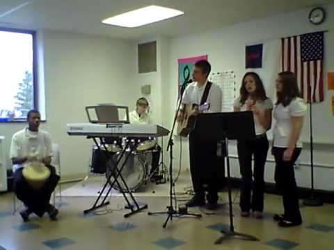 "The ""God Squad"" Praise Band from First Love Christian Academy in Washington, PA"