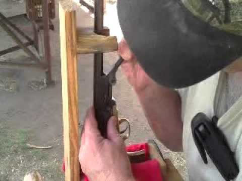 Shooting 1851 Navy Arms .36 cal Cap and Ball Black Powder Revolver