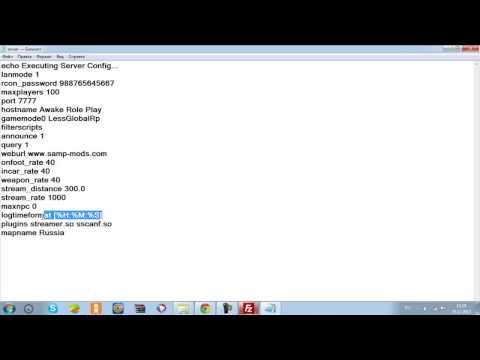 Как сделать свой сервер в samp через хостинг
