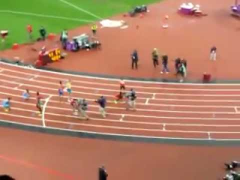 Olympics 400m Final London 2012