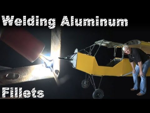 TIG Welding Aluminum Fillet Welds