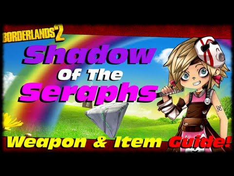 Borderlands 2 Shadow Of The Seraphs Two Fang Relic! BL2 Seraph Weapon & Item Guide! Tiny Tina's DLC!