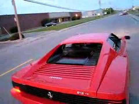 Ferrari 512TR Testarossa take off (1994) Video